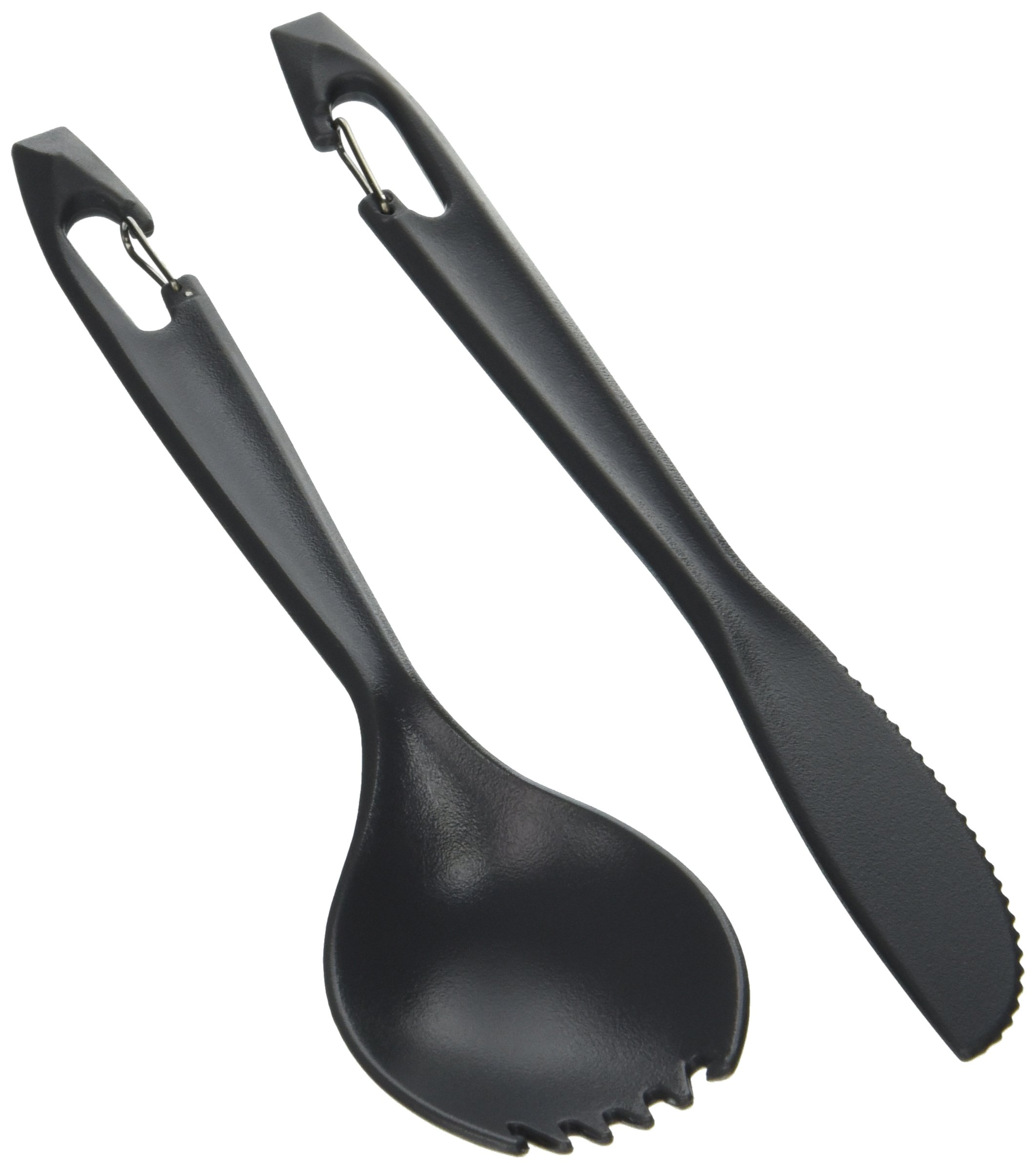 GSI Outdoors 71000 Piranha Cutlery Set, Grey