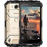 Outdoor Handy, DOOGEE S60 IP68 Android 7.0 Wasserdichte Smartphones, Dual SIM mit 4G 5.2 Zoll FHD Robustes Smartphone - Helio P25 Octa-core - 6G RAM+64G ROM - 8.0MP+21.0MP - 5580mAh - Gold