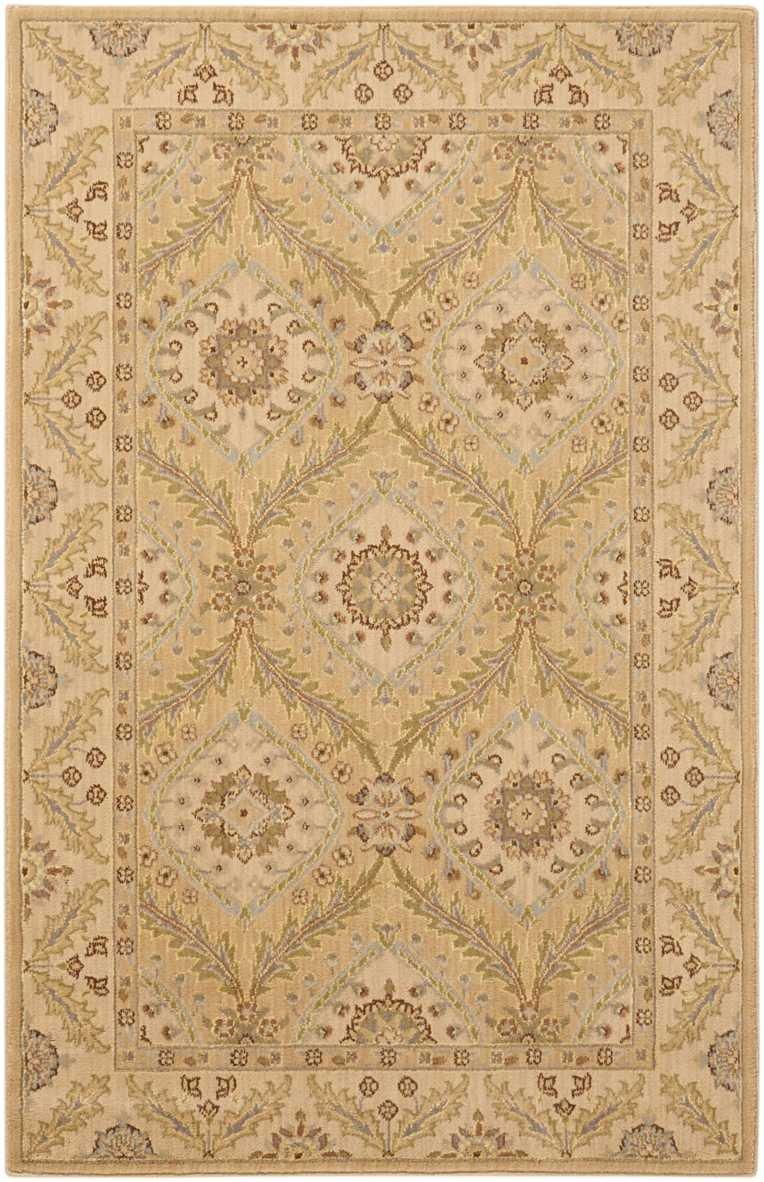 Nourison Persian Empire Area Rug Rectangle Light Gold 7 9 x 10 10