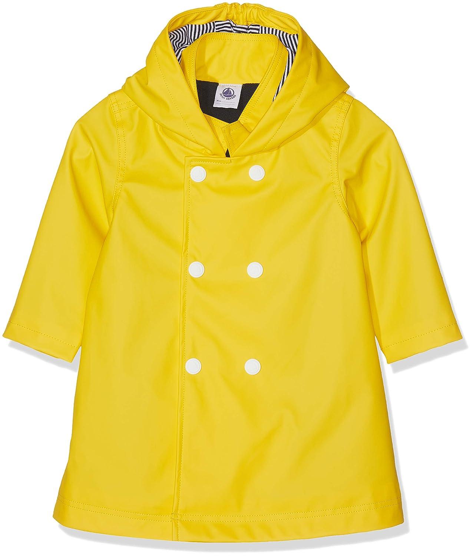 Petit Bateau Baby Girls Banality Waterproof Jacket