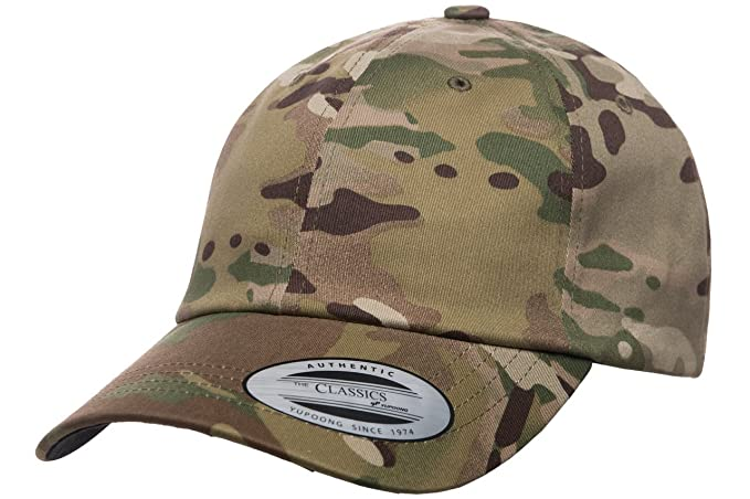 Flexfit Low Profile Cotton Twill Multicam Camo 6 Panel Baseball Cap ... 0c7b6e63b31