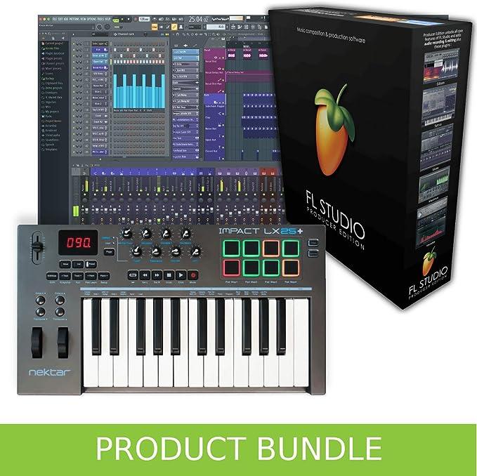 FL Studio Producer Edition y Nektar LX25+ paquete de ...