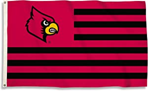 BSI NCAA College Louisville Cardinals 3 X 5 Foot Flag with Grommets