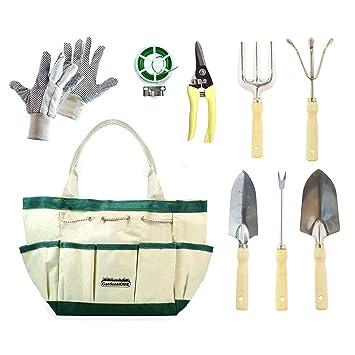 GardenHome 9 Herramientas de Jardineria  Amazon.es  Jardín 9f6422cb3a98