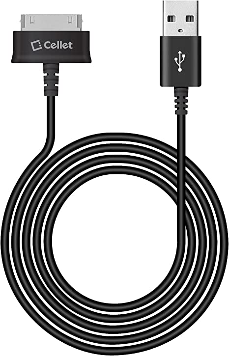 5X 6FT USB 30PIN WHITE CABLE DATA CHARGER FOR GALAXY TAB 7.0 PLUS 8.9 10.1