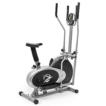 Plasma Fit Elíptica Máquina Elíptica 2 en 1 Bicicleta Estática Cardio Fitness Gimnasio en casa Equipos