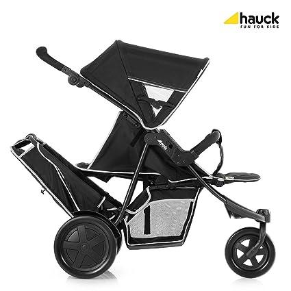 Hauck Freerider 3 ruedas Tandem Cochecito - Negro.: Amazon.es: Bebé