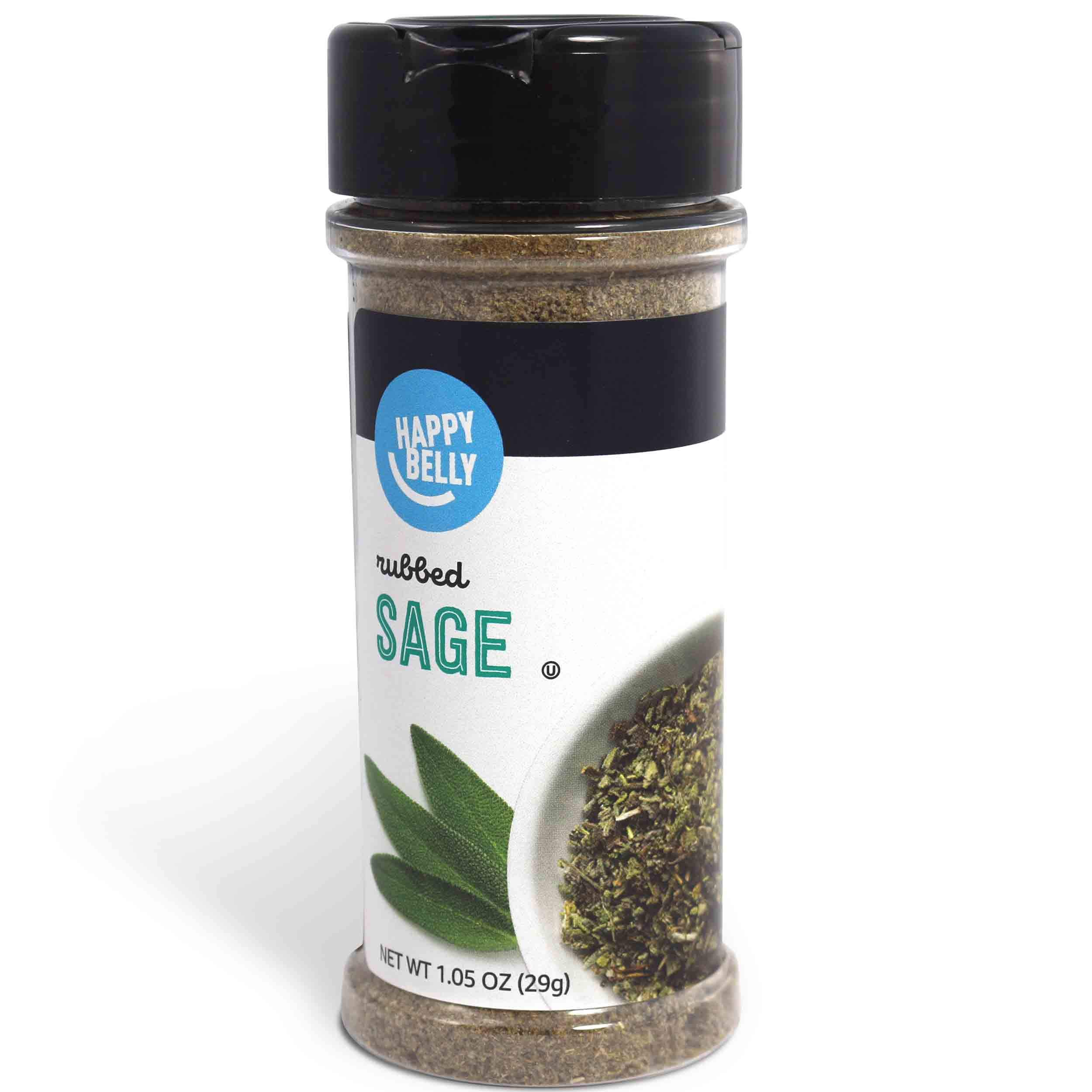 Amazon Brand - Happy Belly Sage, Rubbed 1.05 Ounces