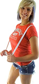 """product image for Hold-Ups Urban Youth 3/4"""" wide Suspender in Y-back with No-slip Clips (White)"""