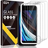 EGV 3 Pack Screen Protector Compatible with iPhone SE 2020 4.7-inch, 9H HD Clear iPhone SE2 HD Clear Tempered Glass, Case Fri