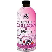 Zena Liquid Collagen + Biotin, 3500mg of Collagen Peptides and 5000mcg Biotin, Hair...