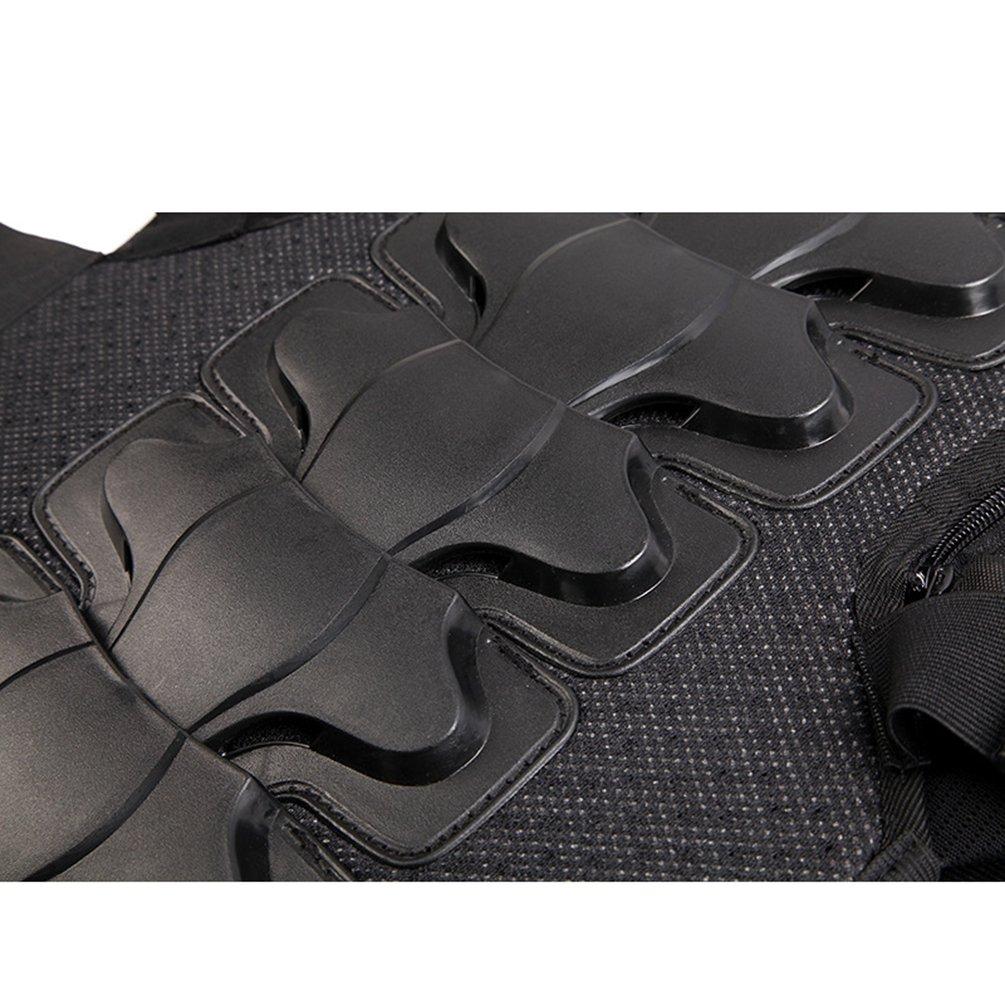 Dexinx Moto Completa Armatura della Maglia per Adulti Senza Maniche Bici della Via del Torace Back Protector Protezione alla Moda Giacca Protezione per la Bici