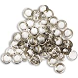 DOVETAIL: 100 Piece Bag Of Zinc Plated 1/2 Inch Grommets