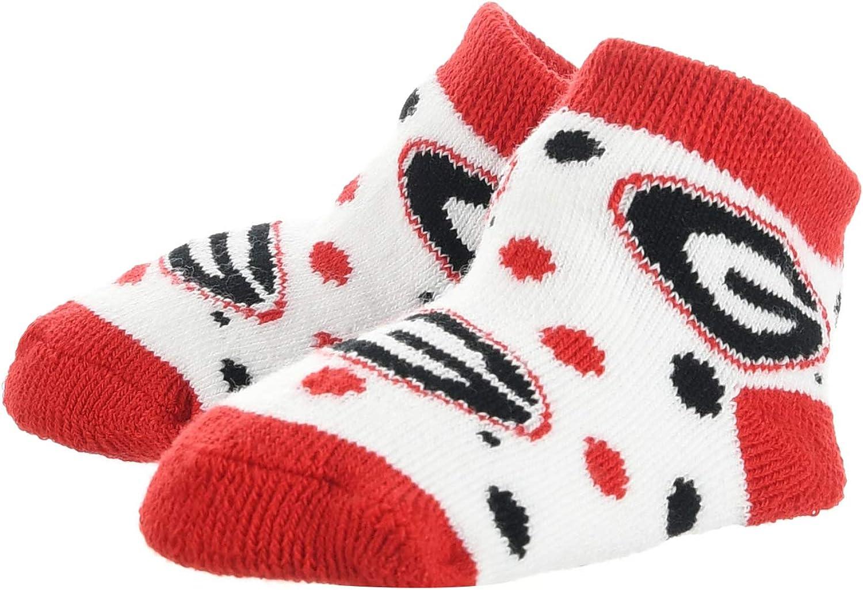 TCK Georgia Bulldogs Toddler Socks Low Cut Little Fan