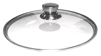 ca902bc24f2f Pressure King Pro Tempered Glass Lid for 5 and 6 Litre: Amazon.co.uk ...
