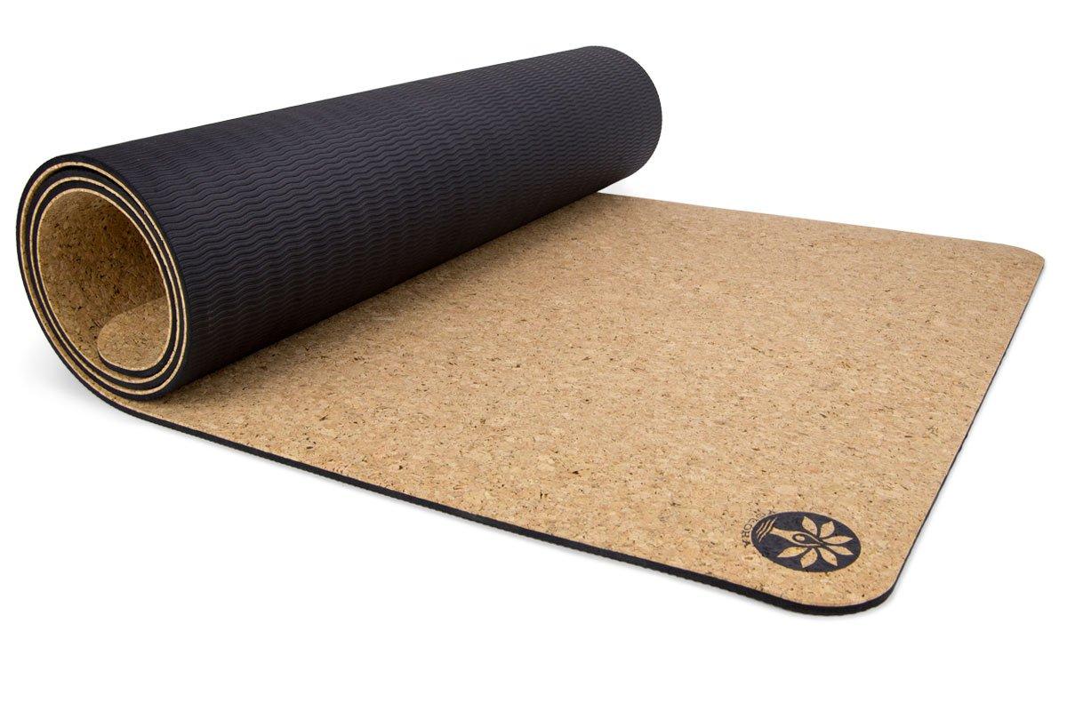 Amazon.com: Esterilla de yoga de corcho Yoloha de aire ...