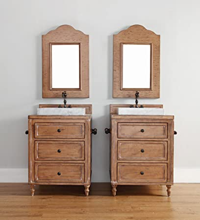 Lovely 26 Inch Vanity Cabinet