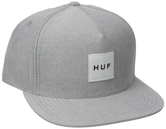 HUF Mujeres Gorras / Gorra Snapback Oxford Box Logo: Amazon.es ...