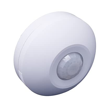 Leviton ODC0S-I7W Ceiling Mount Self-Contained Occupancy Sensor, 2700VA FL, 277VAC 60Hz, PIR, 360 Degree, 530 sq. ft. Coverage, White - Electrical Switches ...