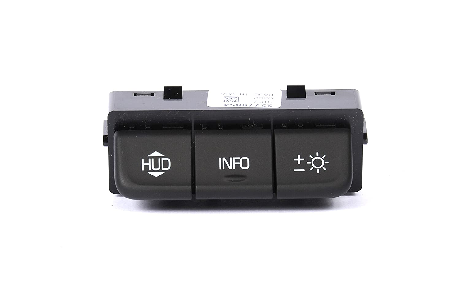 ACDelco 22779854 GM Original Equipment Black Head-Up Display Switch