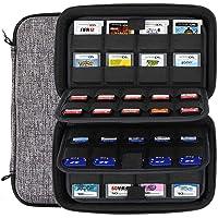 Sisma 72 Game Cards Hoesje Kaartenhouder voor 40 Nintendo Switch PS Vita Gamekaarten en 32 Nintendo 3DS 2DS DS…