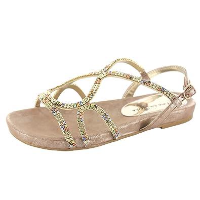 Alma en Pena 323-1 Damen Sandalette, Mehrfarbig 39 EU