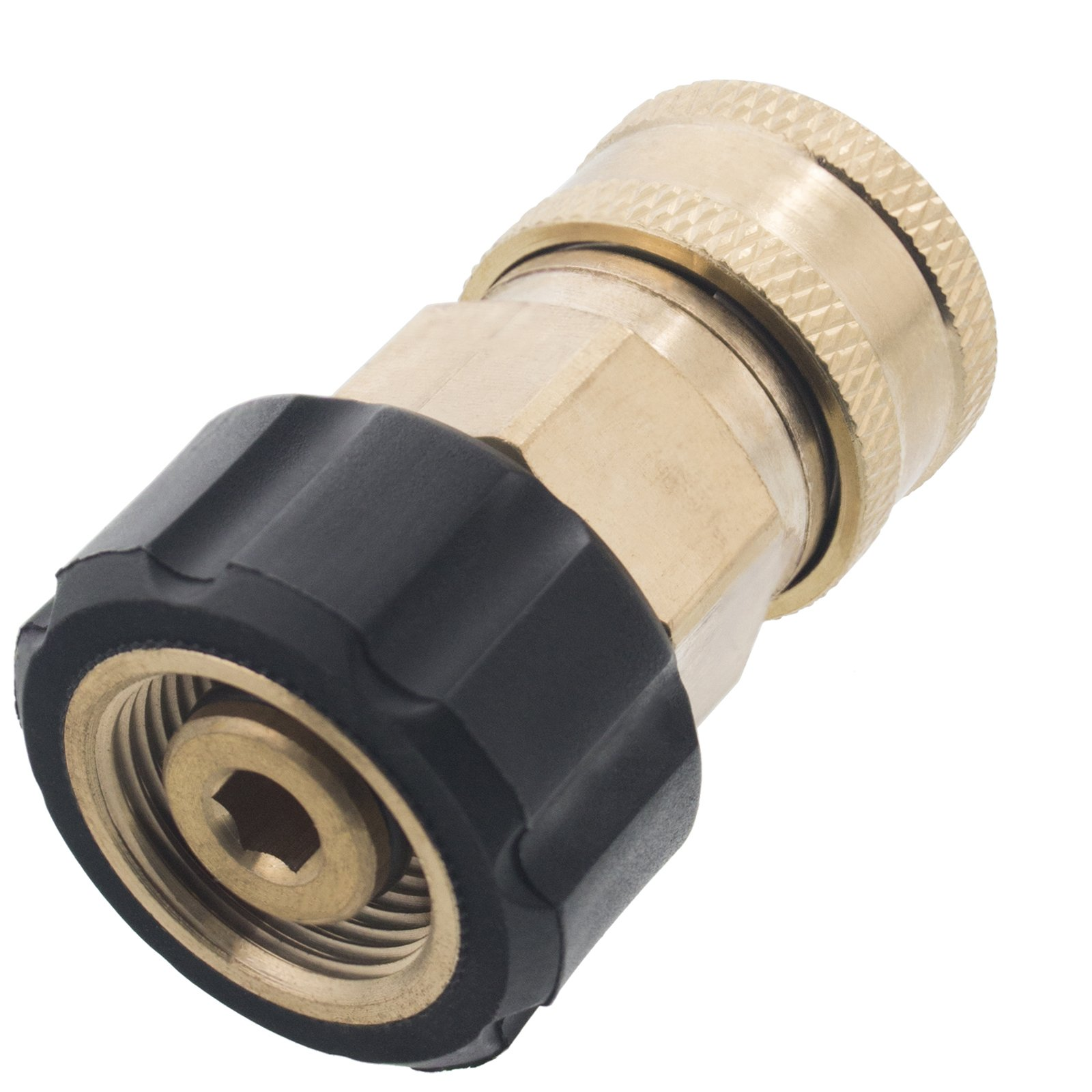 Erie Tools Pressure Washer 3/8 Female NPT to M22 Quick Connect Socket Coupler 14 mm