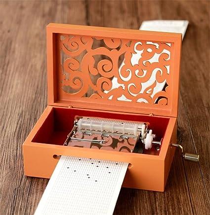 Cuzit Make Your Own - Caja de música para manualidades (madera, 30 notas)