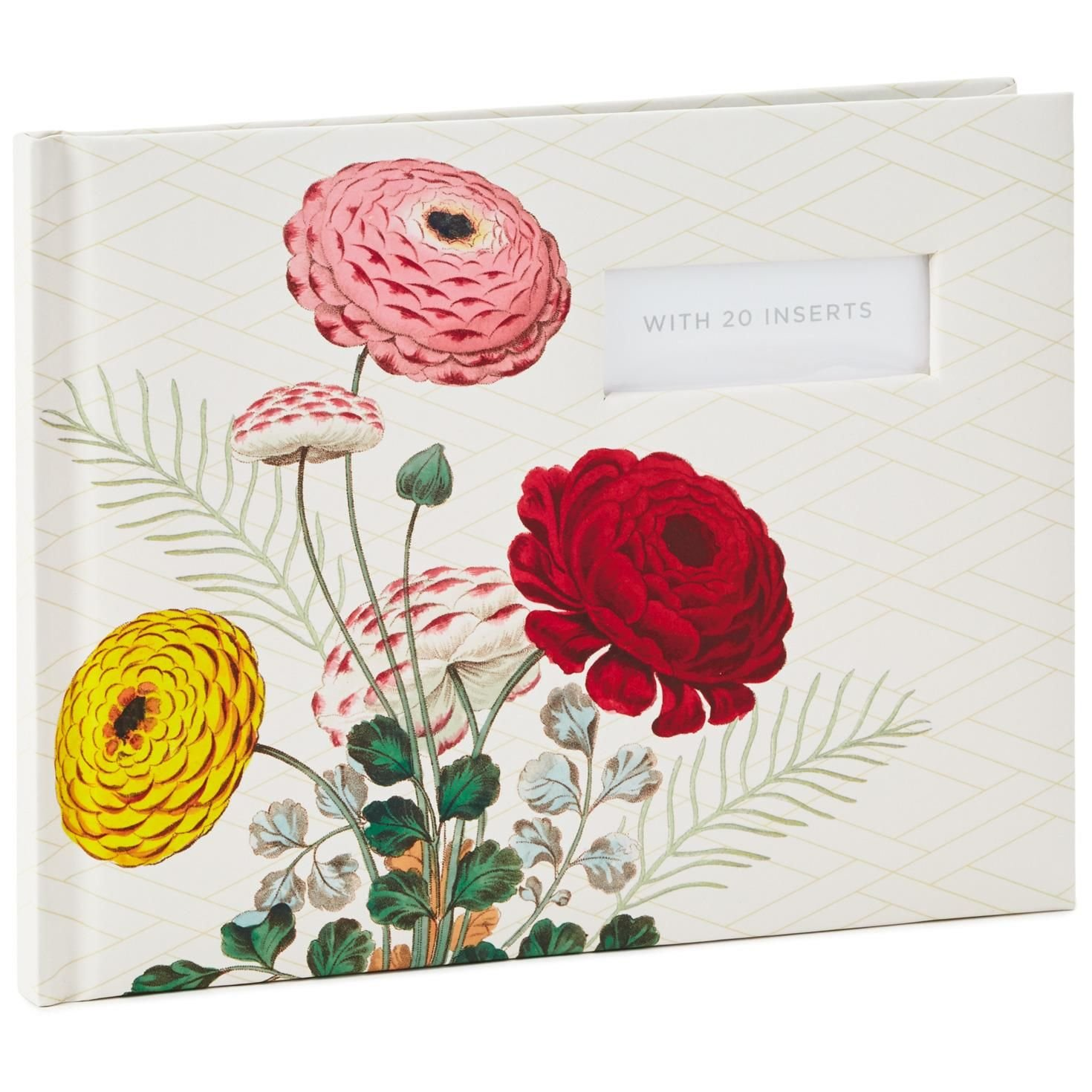 Hallmark Ranunculus Floral Botanical Guest Book Guest Books Animals & Nature