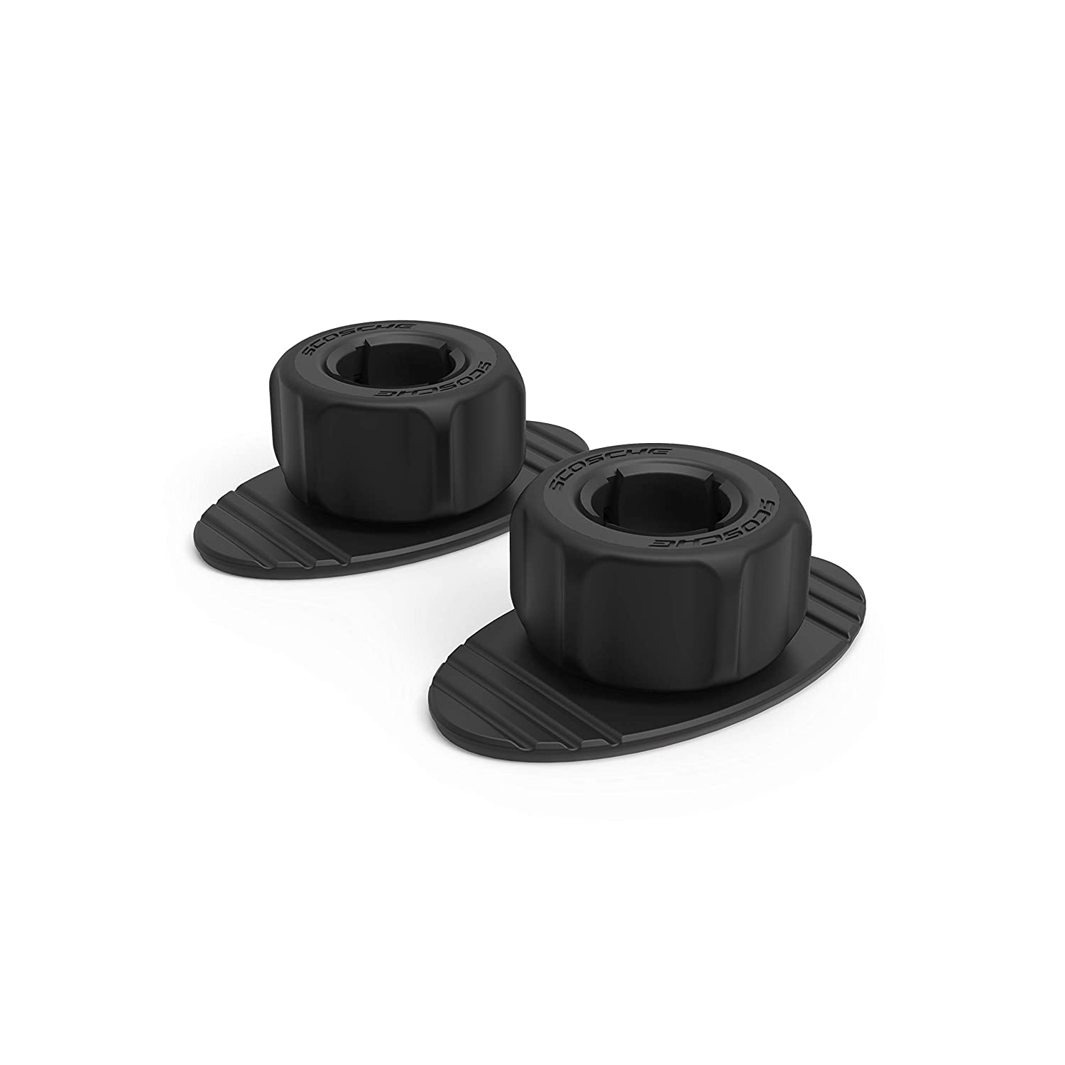 Scosche MPDBASE-2PKBP0 Replacement Adhesive Base for MagicMount Pro Mounts – 2-Pack