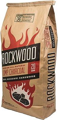 Rockwood All-Natural Hardwood Lump Charcoal