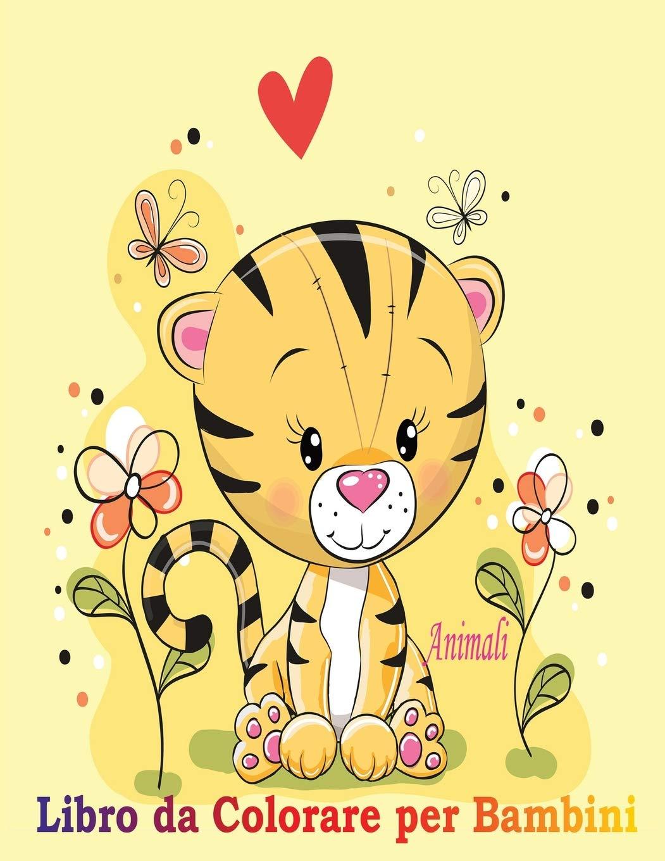 Disegni Da Colorare E Stampare Per Bambini Grandi.Animali Libro Da Colorare Per Bambini Un Libro Per Sviluppare Il