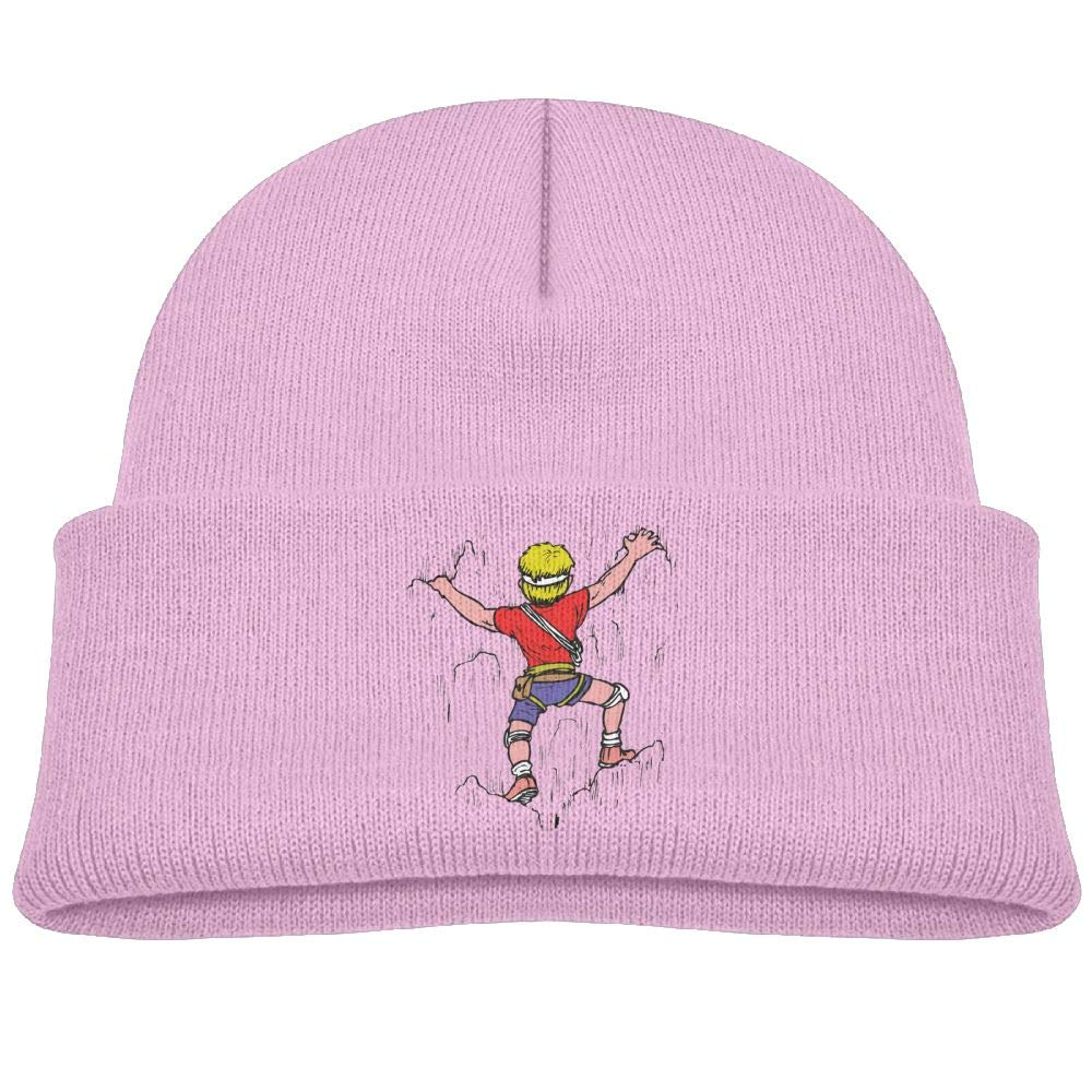 Amazon.com: Beanie Hat Skull Caps Wool Rock Climbing Cartoon ...
