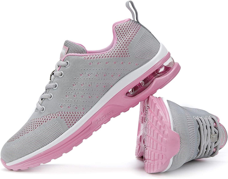 AoSiFu Womens Running Shoes Lightweight Air Cushion Sneakers Athletic Sport Casual Walking Shoes
