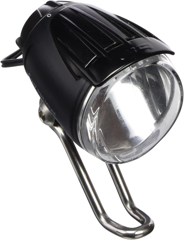 E-Bike 6-42V DC LED Scheinwerfer Lumotec IQ Cyo 80 Lux mit Schalter B/&M NEU