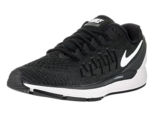 dc3853c37679b Nike Men s AIR Zoom Odyssey 2 Black Running Shoes-8 UK India(42.5EU ...