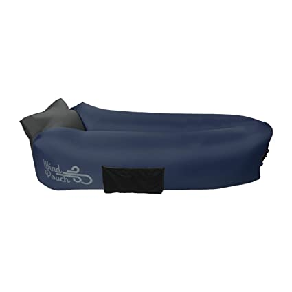 WindPouch Go Hinchable Hamaca, True Navy: Amazon.es ...