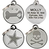 GoTags Pet ID - Playful, Custom Engraved Dog & Cat