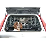 Dog Guard Universal Car Headrest Travel Mesh Grill Pet Safety Barrier Adjustable