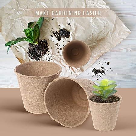 Renwu Pot Semis 200 Trous Pot Semis en PP Pot De Plantation Pots De Germination pour Fleur Et Plante Semis Size 200 Trous
