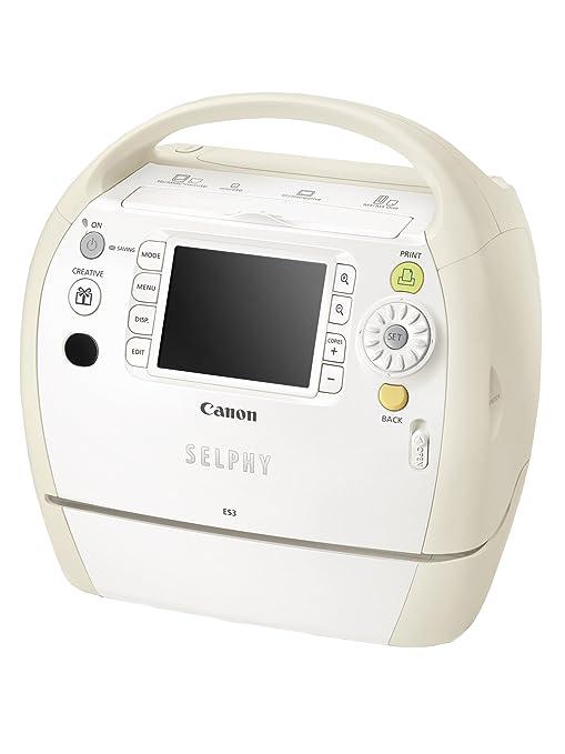 Canon Selphy ES3 - Impresora fotográfica (300 x 600 DPI ...