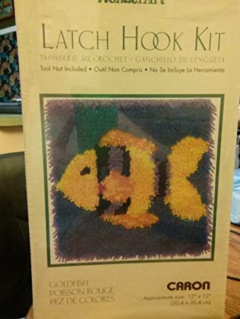 "Caron Wonderart Latch Hook Kit 12/""X12/""-Treble Clef"