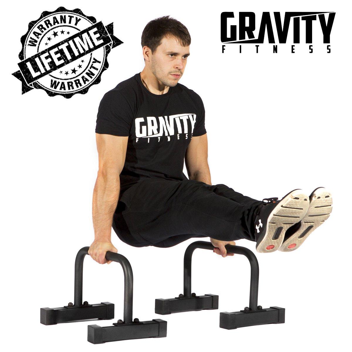 GRAVITY FITNESS Paralelas para crossfit calistenia gimnasia y pesas
