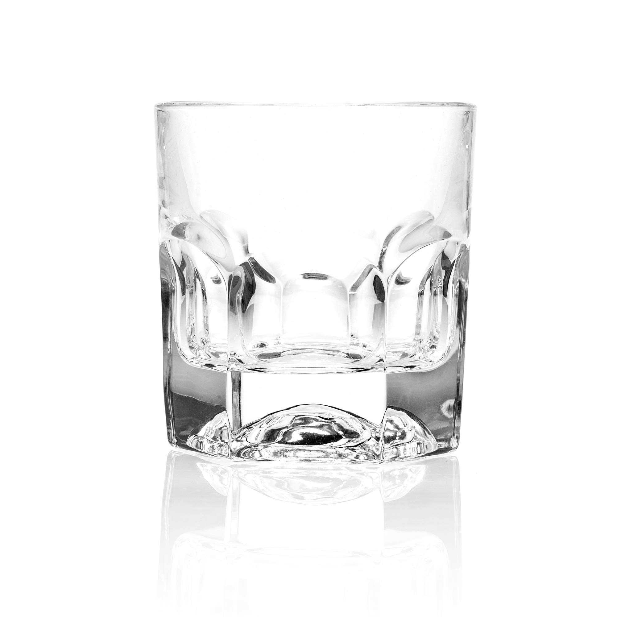 RCR Provenza Crystal Short Whisky Water Tumblers Glasses, 6.5oz, Set of 6