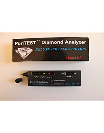 Puritest P7 DIAMOND ANALYZER Electronic Detecting Detector Tester Testing Kit