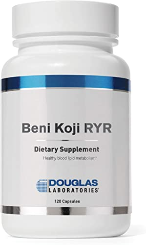 Douglas Laboratories – Beni Koji Red Yeast Rice – Fermented Red Yeast Rice to Support Healthy Blood Lipid Levels – 120 Capsules