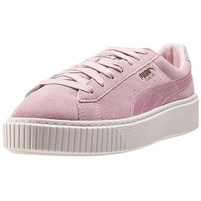 puma basket schuhe damen rosa