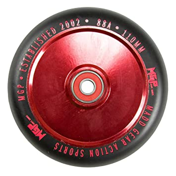 Madd Gear MFX - Ruedas Huecas para Patinete de 110 mm, Color ...