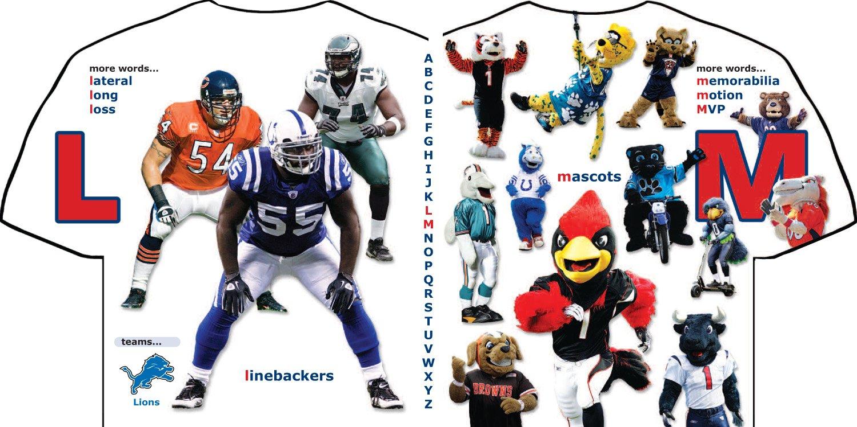 NFL Football ABC: My First Alphabet Book (My First Alphabet Books (Michaelson Entertainment))