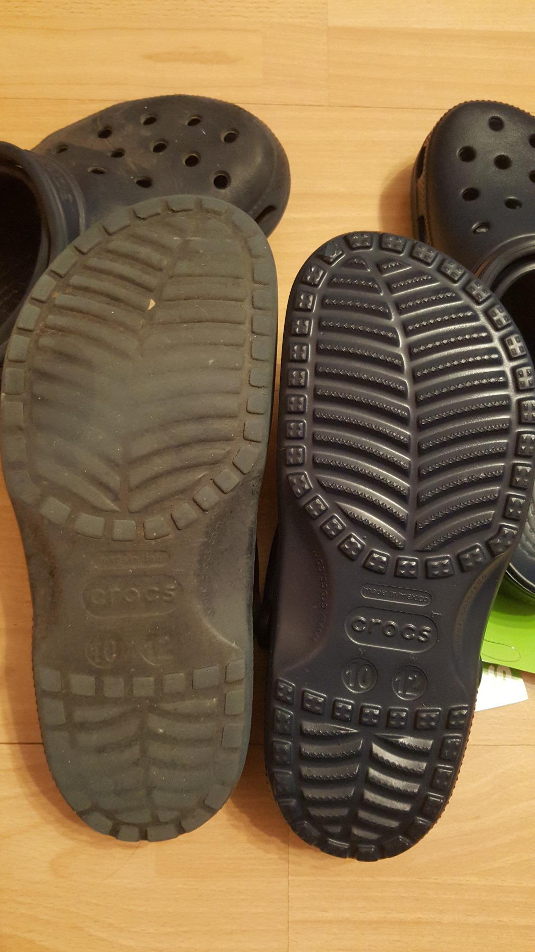 more photos 7721e 10171 Crocs Unisex-Erwachsene Classic Clogs, Blau (Navy), 42/43 EU ...